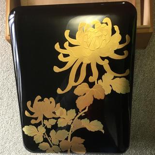 漆◆金箔◆文庫箱(漆芸)