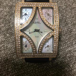 アヴァランチ(AVALANCHE)のIcetek アイステック ダイヤ 時計 ゴールド(腕時計(アナログ))