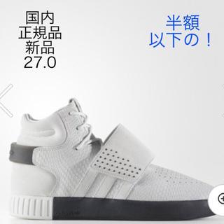 アディダス(adidas)のoriginals TUBULAR INVADER STRAP White (スニーカー)