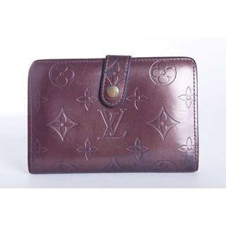 ルイヴィトン(LOUIS VUITTON)の良品 本物 ルイ ヴィトン モノグラム がま口 紫財布(財布)
