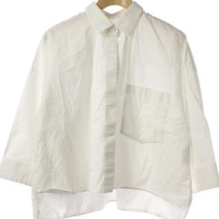 エンフォルド(ENFOLD)の【美品】ENFOLD エンフォルド 七分袖シャツ(シャツ/ブラウス(長袖/七分))