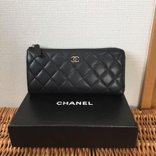 シャネル(CHANEL)のあらぺち様専用 シャネル L字ファスナー 長財布(財布)