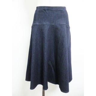 ニジュウサンク(23区)の美品☆23区のスカート☆41866(ひざ丈スカート)