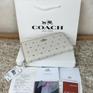 コーチ(COACH)の✨新作コーチCOACH 長財布 新品 箱、ショッパー付き✨即日発送(財布)