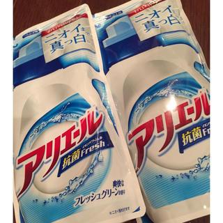 ピーアンドジー(P&G)のアリエール詰め替え(洗剤/柔軟剤)