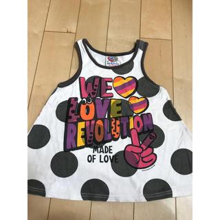 ラブレボリューション(LOVE REVOLUTION)のKIDS★ ラブレボ LOVEREBO 110㎝(Tシャツ/カットソー)
