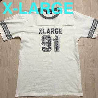 エクストララージ(XLARGE)のXLARGE エクストララージ Tシャツ 白 Mサイズ メンズ(Tシャツ/カットソー(半袖/袖なし))