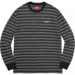 Supreme Raised Stripe L/S Top Lサイズ