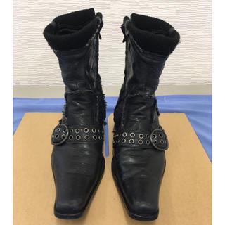 ゴーサンゴーイチプールオム(5351 POUR LES HOMMES)の5351HOMMES ブーツ FUGA VANQUISH BUFFALOBOBS(ブーツ)