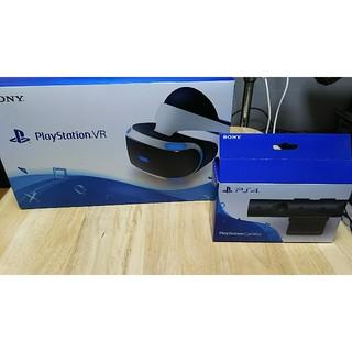 プレイステーションヴィーアール(PlayStation VR)のPSVR CUHJ-16000 単品版 中古美品 専用 お取り置き(家庭用ゲーム機本体)