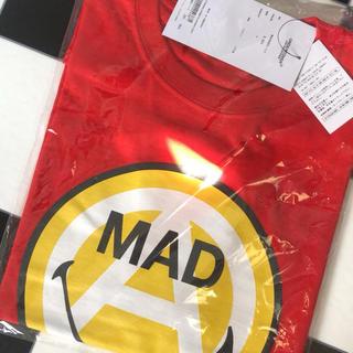 アンダーカバー(UNDERCOVER)のgirls don't cry undercover mad smile L 赤(Tシャツ/カットソー(半袖/袖なし))
