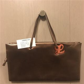 ロエベ(LOEWE)の美品Loewe 約13万円 レザーバッグ(ハンドバッグ)