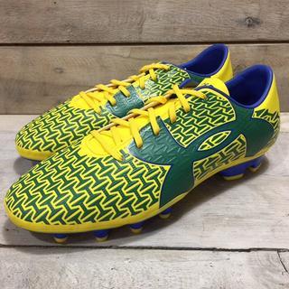 アンダーアーマー(UNDER ARMOUR)のアンダーアーマー フットボール サッカー スパイク 黄色 新品 171217(シューズ)