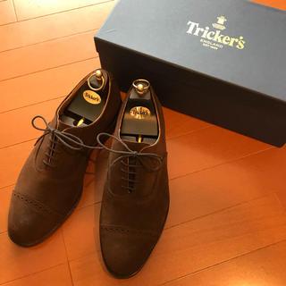 トリッカーズ(Trickers)の新品未使用 Tricker's トリッカーズ スエードシューズ(ドレス/ビジネス)
