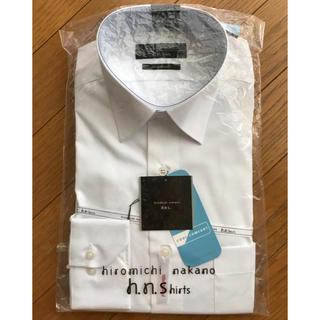 ヒロミチナカノ(HIROMICHI NAKANO)の白 長袖 ワイシャツ ヒロミチナカノ メンズ ビジネス 37(S)-82(シャツ)