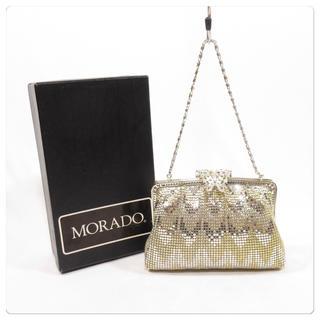 美品■ MORADO パーティーバッグ ハンドバッグ 箱付き(ハンドバッグ)