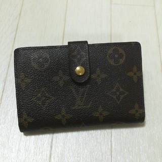 ルイヴィトン(LOUIS VUITTON)の《美品 正規品》ルイヴィトン 二つ折り財布 がま口(財布)