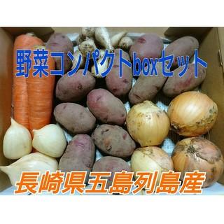 無農薬野菜5種コンパクトboxセット「紅じゃがバージョン」長崎県五島列島より(野菜)