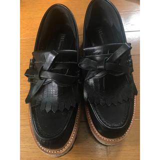ワイズ(Y's)のY's シャークソール厚底シューズ(ローファー/革靴)