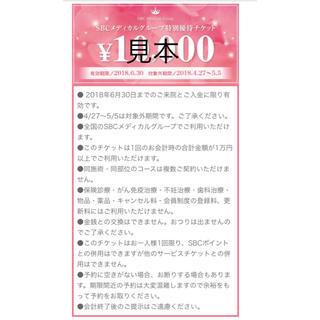 28000円分!初診限定★湘南美容外科★送料無料(その他)