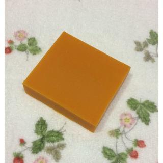 手作り石鹸*オレンジ石けん(無香料)(その他)