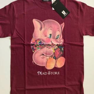 アンダーカバー(UNDERCOVER)のUNDERCOVER / MAD ELEPHANT TEE / ボルドーL(Tシャツ/カットソー(半袖/袖なし))