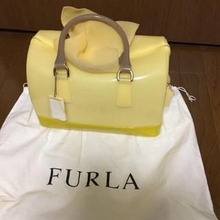 フルラ(Furla)の正規 新品 未使用✨フルラ キャンディバック Mサイズ  yellow(ハンドバッグ)