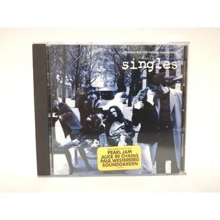 【廃盤】映画『シングルス/Singles』サントラCD/グランジロック/シアトル(映画音楽)