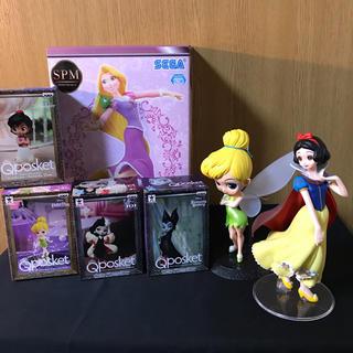 ディズニー(Disney)のQposket ティンカーベル 白雪姫 ラプンツェル フィギュア(アニメ/ゲーム)
