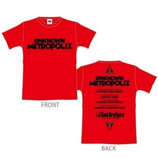 三代目 UMP ツアーTシャツ RED