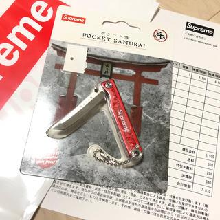 シュプリーム(Supreme)のRED Supreme StatGear Pocket Samurai(キーホルダー)