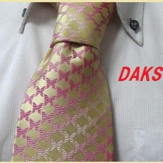 ダックス(DAKS)の美品★ダックス★DAKS★総蝶々バタフライ柄高級ネクタイ★可愛い★(ネクタイ)