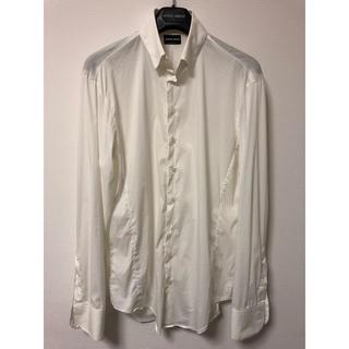 ジョルジオアルマーニ(Giorgio Armani)のGIORGIO ARMANI 白 ドレスシャツ(シャツ)