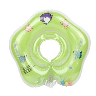 ベビー 赤ちゃん お風呂 浮き輪 黄緑 スイマーバ  (お風呂のおもちゃ)