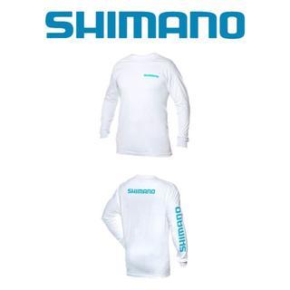 Shimano/長袖Tシャツ/アメリカ購入品/M/白(ウエア)