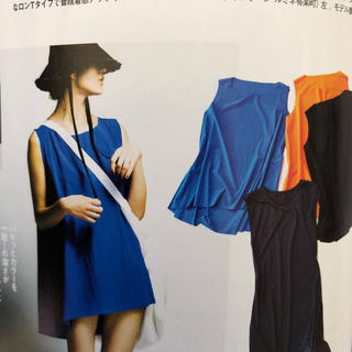 エンフォルド(ENFOLD)のナゴンスタンス★水着素材ワンピース ブルー(水着)