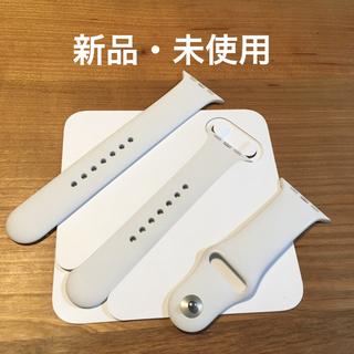 アップルウォッチ(Apple Watch)の 純正 アップルウォッチ ホワイト スポーツバンド (ラバーベルト)