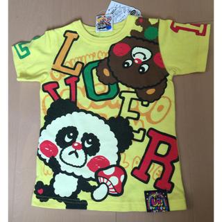 ラブレボリューション(LOVE REVOLUTION)の新品ラブレボ110黄色Tシャツ(Tシャツ/カットソー)