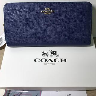 コーチ(COACH)のCOACH  コーチ  長財布新品 即日発送ok (財布)