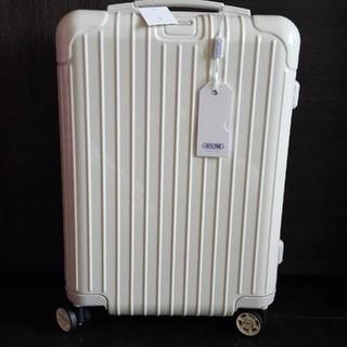 リモワ(RIMOWA)のリモワ RIMOWA エクリュ 白 32L スーツケース 機内持ち込みサイズ(スーツケース/キャリーバッグ)
