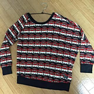 アディダス(adidas)のRUNDMCアシンメトリートップス(Tシャツ(長袖/七分))