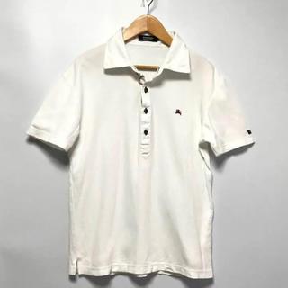 バーバリーブラックレーベル(BURBERRY BLACK LABEL)の美品バーバリー ブラックポロシャツ(ポロシャツ)