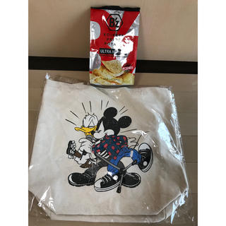 ディズニー(Disney)のB'z 30th exhibition ディズニー トート バッグ ナチュラル(ミュージシャン)