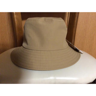 新品 無印 撥水平天ハット (帽子)