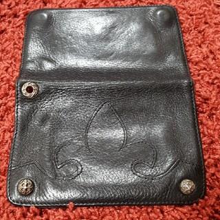 エーアンドジー(A&G)のA&Gフレアパッチ二つ折り財布(折り財布)