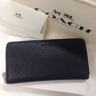 コーチ(COACH)のCOACH 人気の長財布 新品 専用箱付き ブラック F74769(財布)