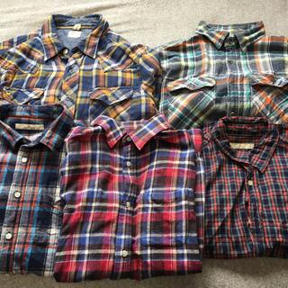 グローバルワーク(GLOBAL WORK)のシャツまとめ売り   (ブランド色々)(シャツ)