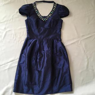 ビアッジョブルー(VIAGGIO BLU)のビアッジョブルー❤︎ドレス 結婚式 Viaggio Blue(ミディアムドレス)