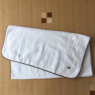 ダックス(DAKS)のバスタオル DAKS  ホワイト 未使用(タオル/バス用品)
