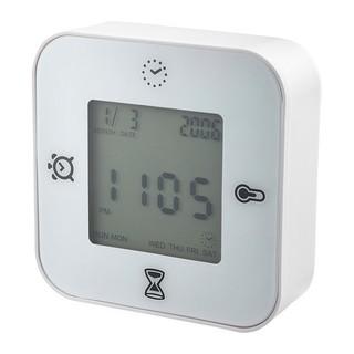 IKEA - KLOCKIS時計/温度計/アラーム/タイマー, ホワイト